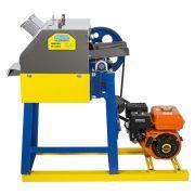 Moenda de Cana a Gasolina Com Partida Manual e Rolos de Inox Montada M-730