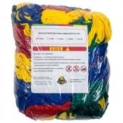 Rede de Proteção Colorida para Cama Elástica de 2 m