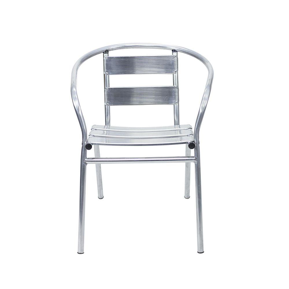 Cadeira de Alumínio Master com Apoio de Braço