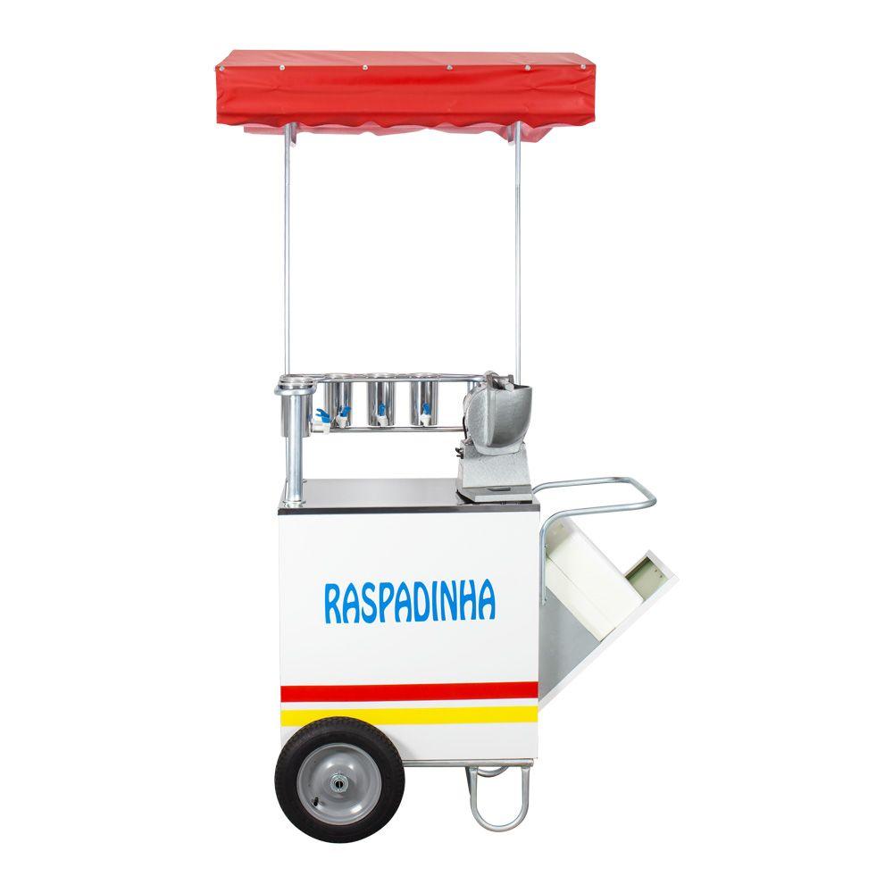 Carrinho de Raspadinha com Triturador de Gelo Elétrico Yole