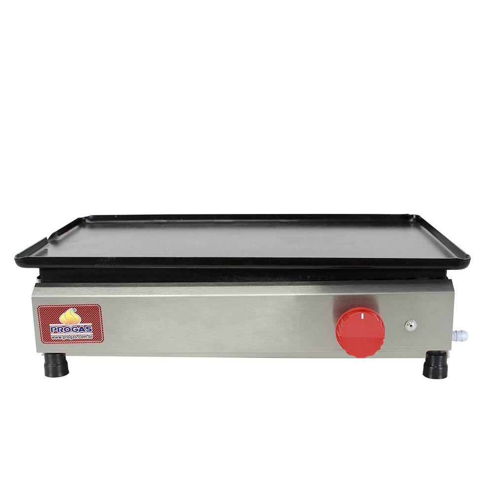 Chapa para Lanche e Hot Dog de 45 cm Progás
