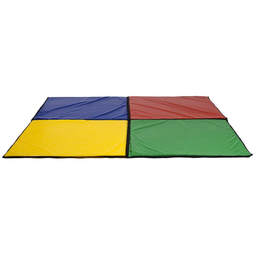 Colchonete colorido para piscina de bolinha de 2m x 2m for Bett 2m x 2m