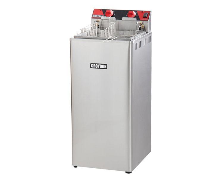 Fritadeira Elétrica Industrial Água e Óleo 220 V Croydon