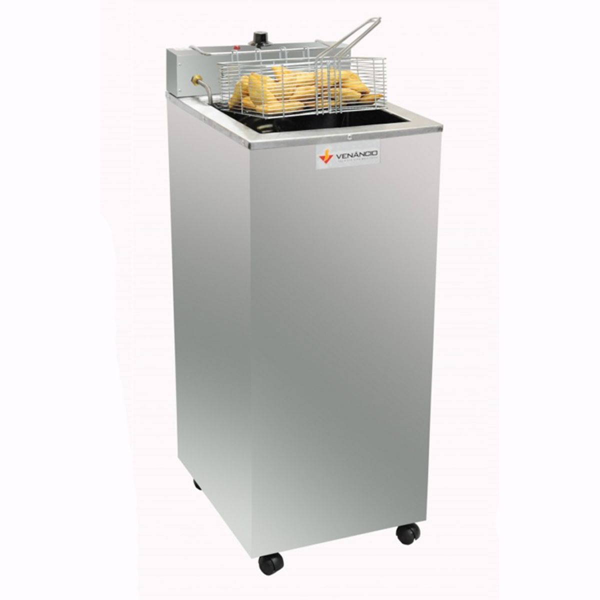 Fritador Água e Óleo Clean Elétrico de Gabinete 23 Litros Venâncio
