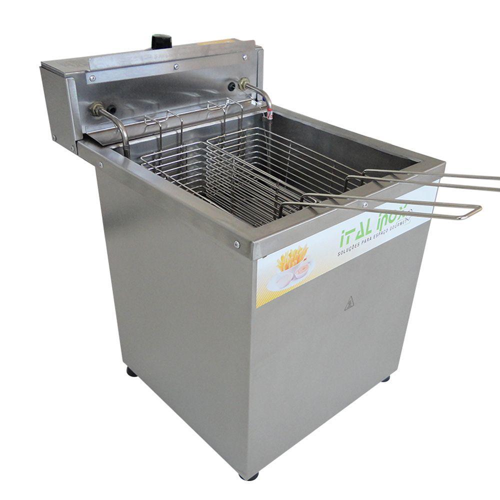 Fritadeira Eletrica de Mesa Agua e Oleo para 45kg