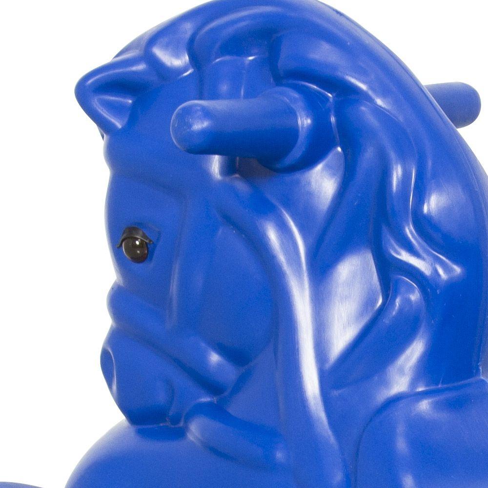 Gangorra Infantil Cavalinho Azul