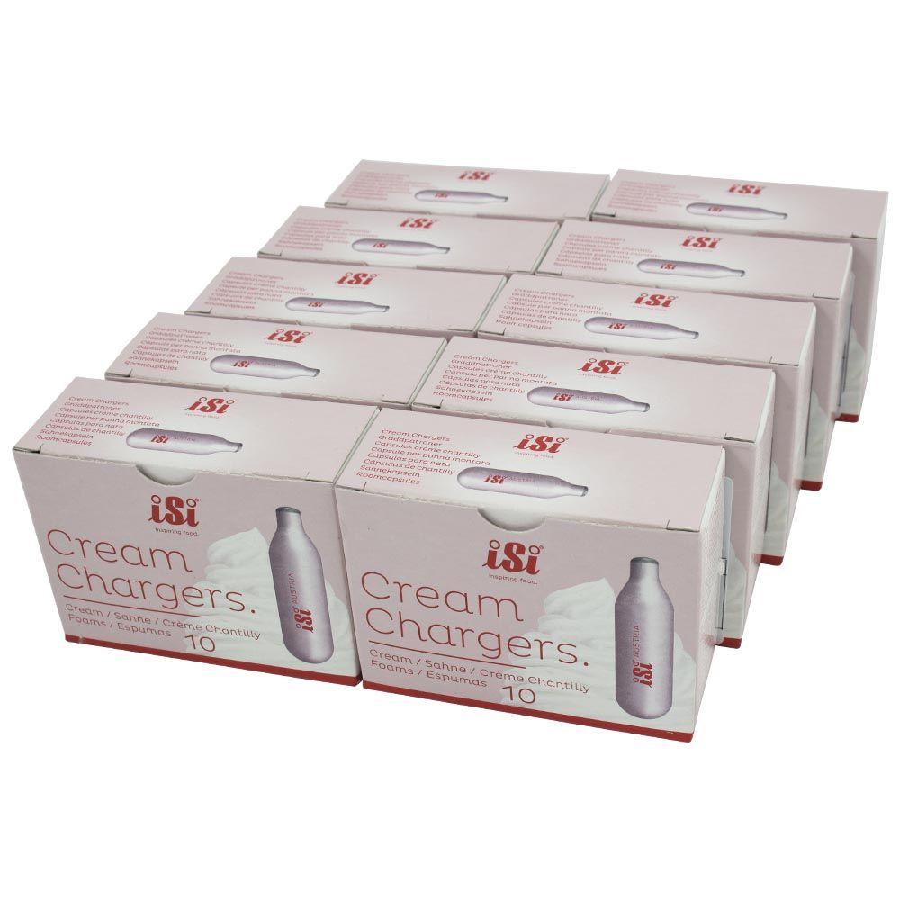 Gás para Garrafas de Chantilly ISI com 10 caixas