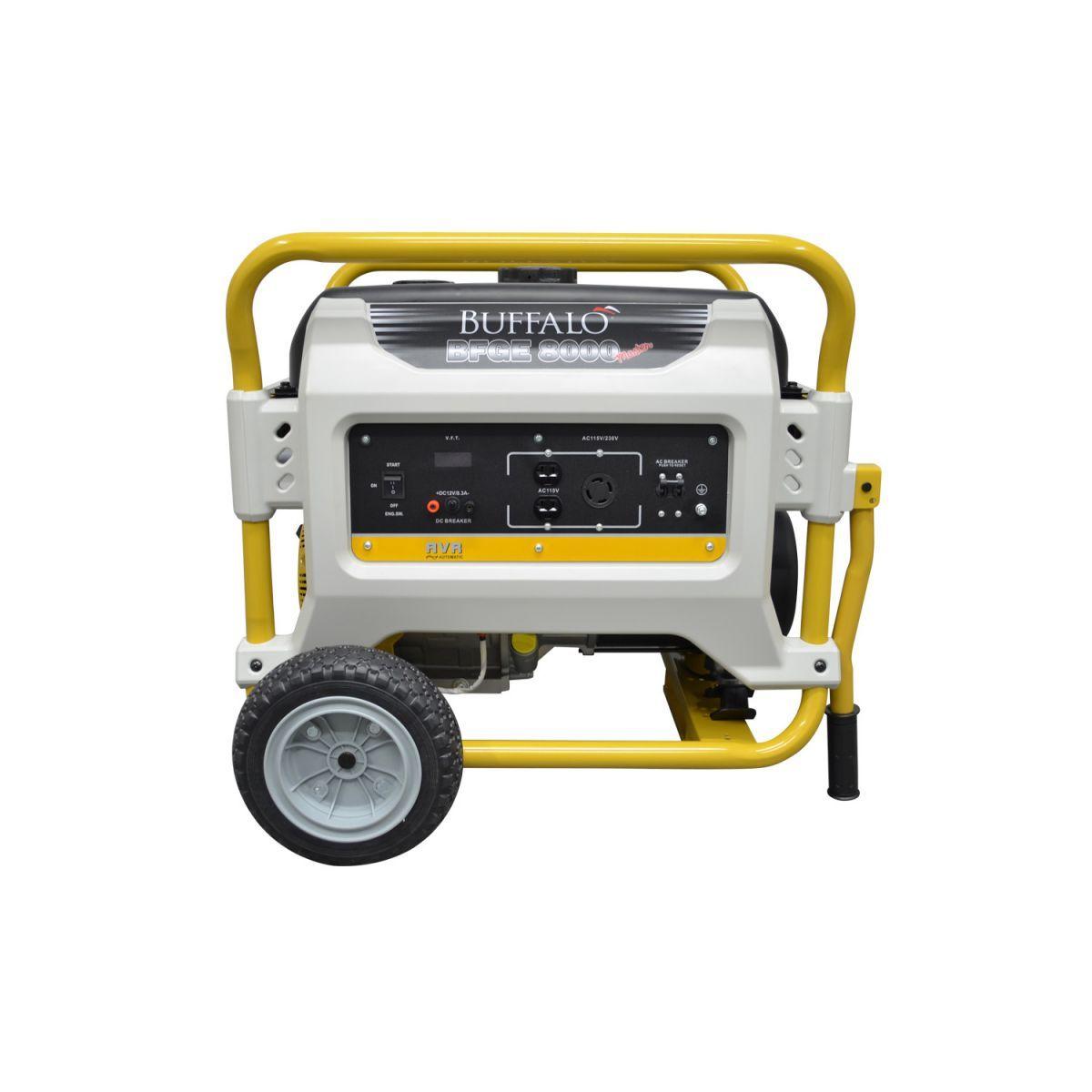 Gerador de Energia a Gasolina 7200w e 8kva  BFGE 8000 Master