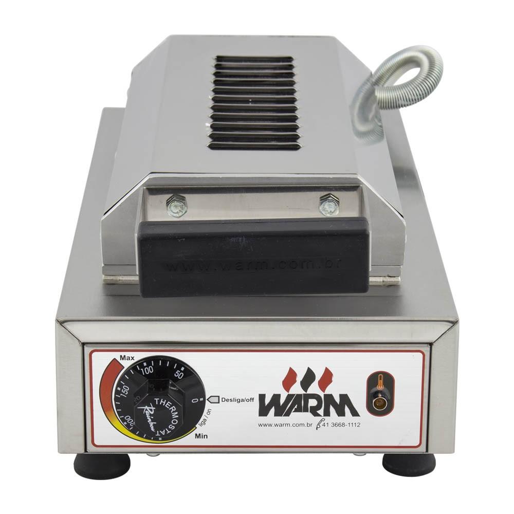 Maquina de Crepe Crepeira  Elétrica de 6 Cav. WARM + Brinde Exclusivo