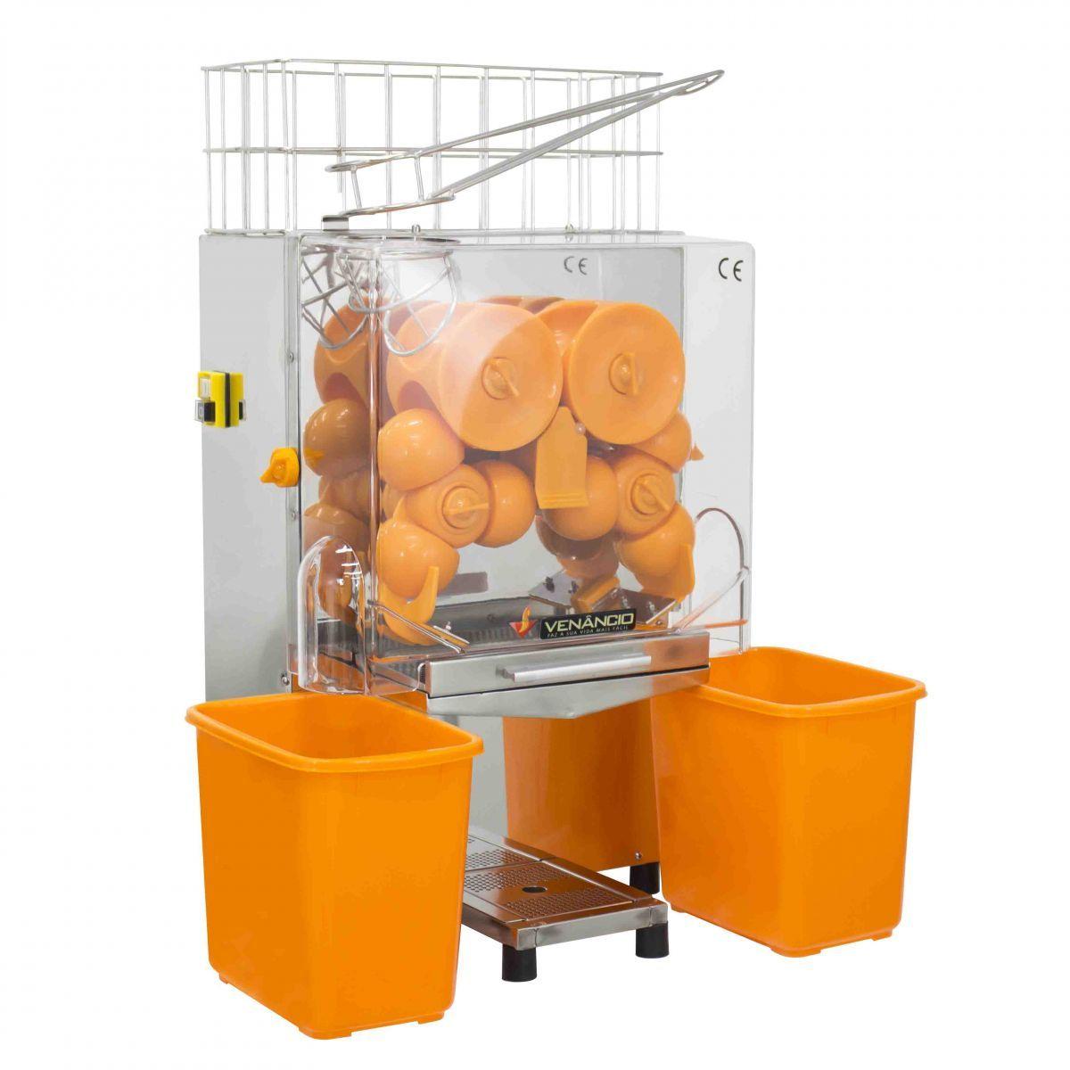 Máquina de Suco de Laranja Automática Venâncio Frete Grátis