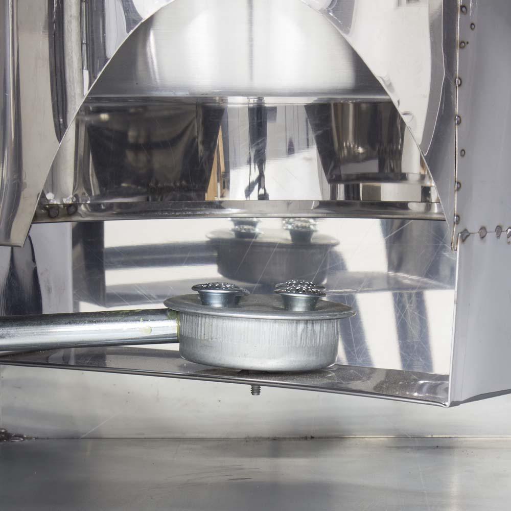 Mesa de Churros Completa com Masseira de Engrenagem R2