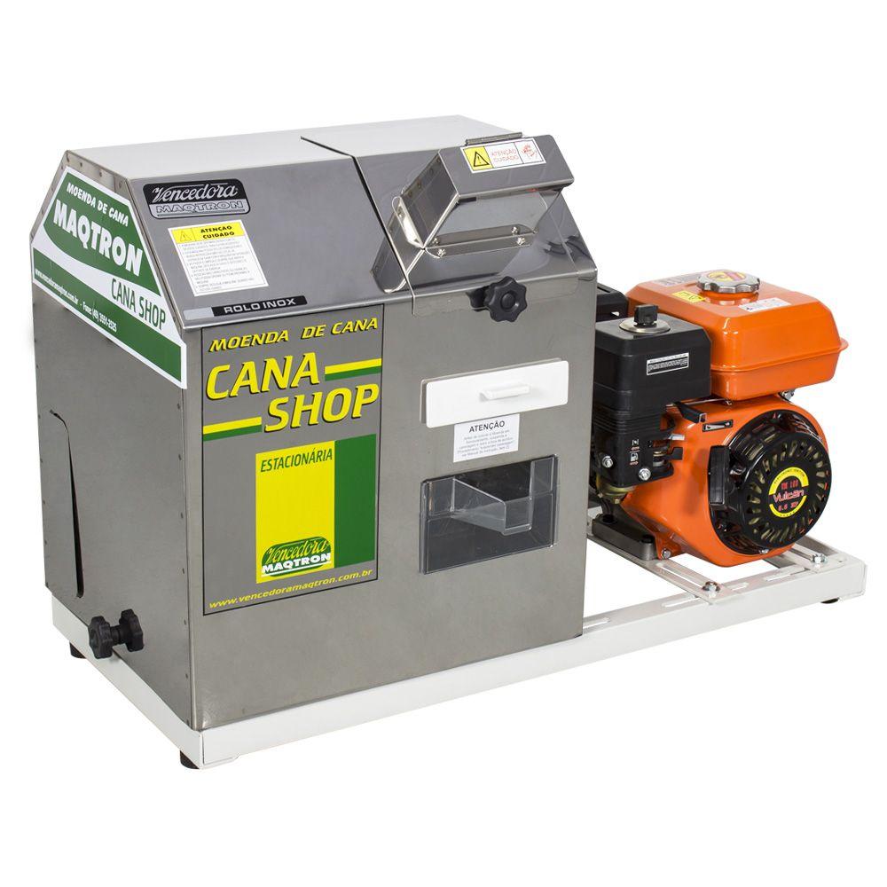 Moenda Cana Shop 200 com Motor Estacionário Partida Manual