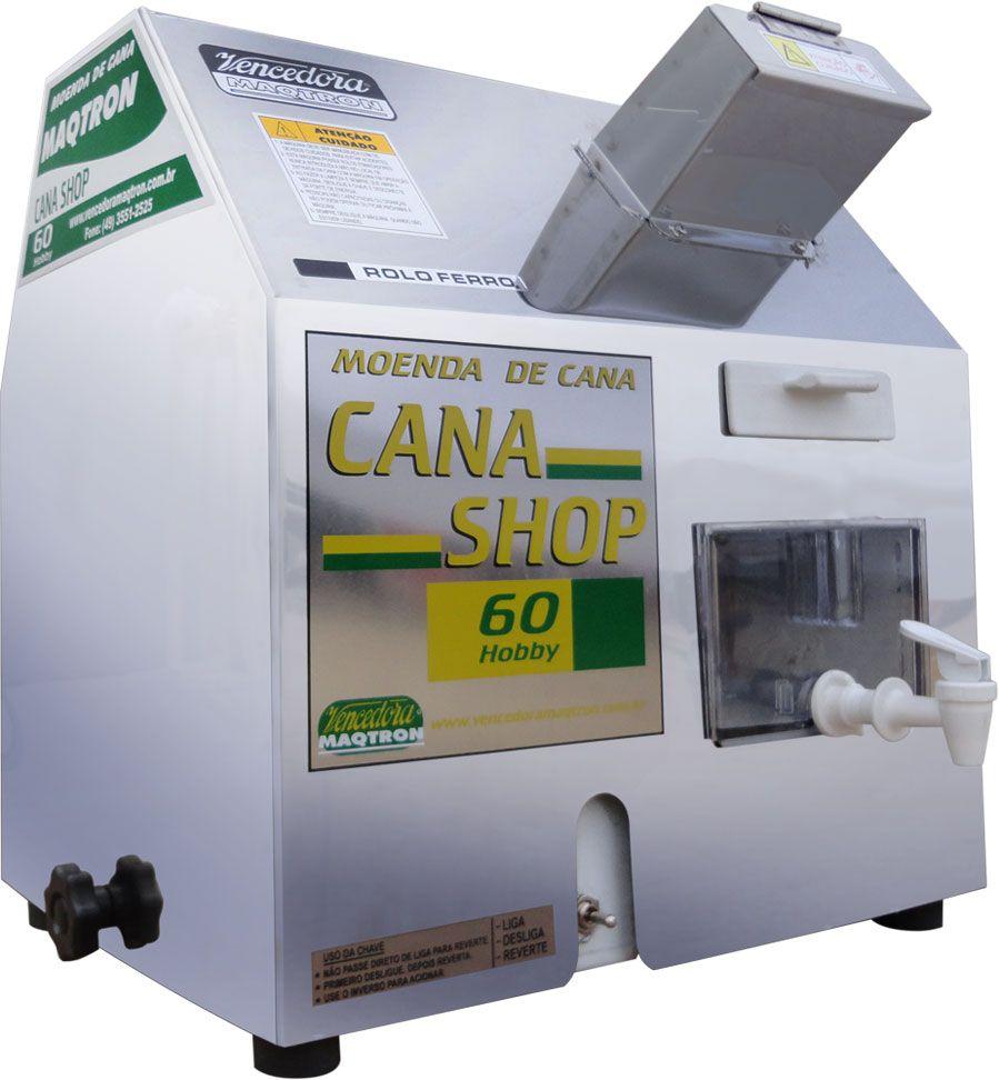 Moenda de Cana Com Rolo de Ferro Montada - Cana Shop 60
