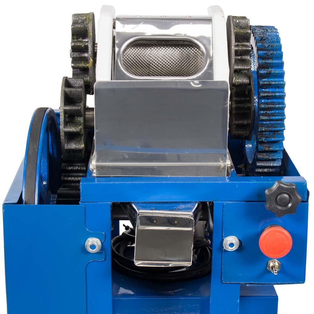 Moenda de Cana Com Motor Elétrico e Rolo de Ferro B-721