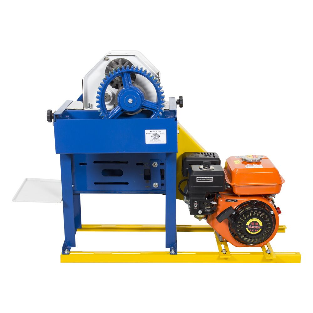 Moenda de Cana Motor a Gasolina Partida Manual B-721 TURBO Montada