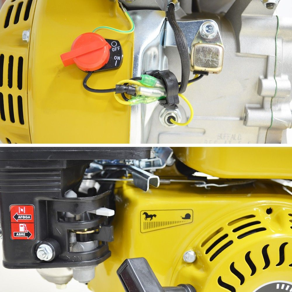 Motor a Gasolina Estacionário de 5.5 CV