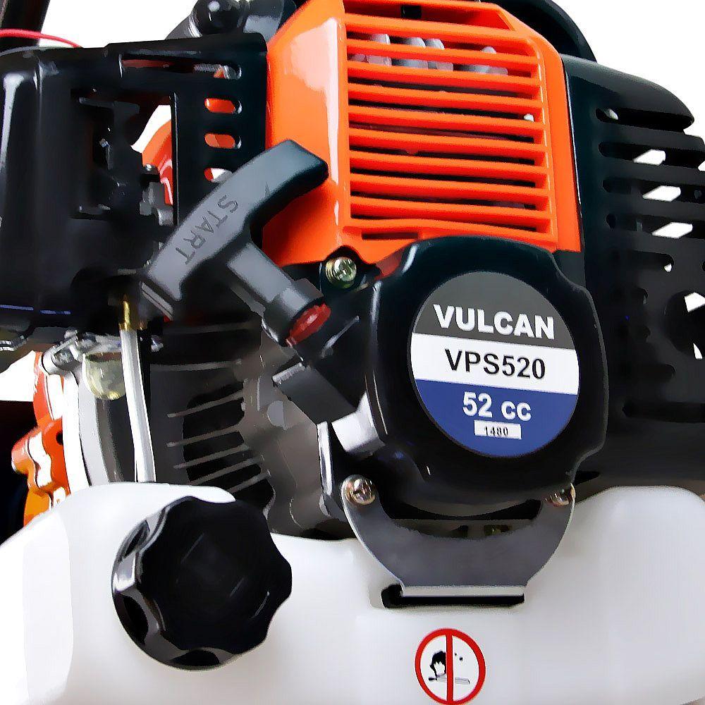 Perfurador de Solo a Gasolina 52 CC com Broca 80 x 20 cm Vulcan