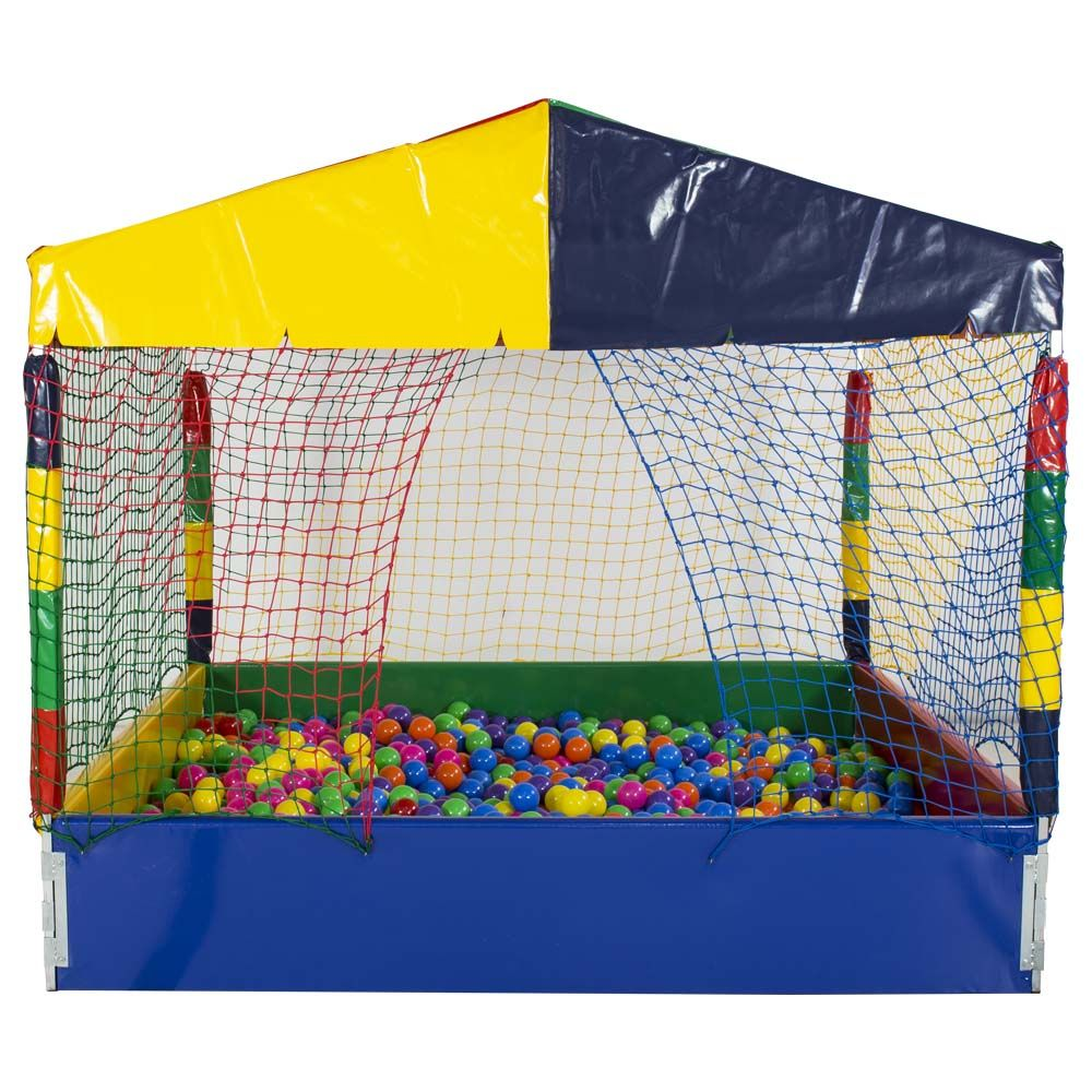 Piscina de Bolinha de 2m x 2m com 2.000 Bolas Coloridas