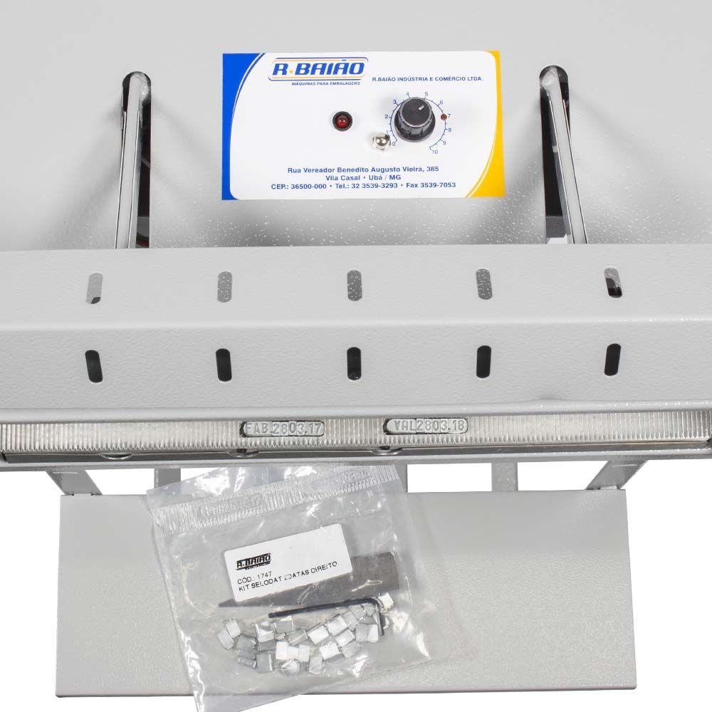 Seladora Datadora com Pedal Solda e Controle de Temperatura 30cm