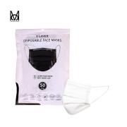 Máscara Descartável Tripla Branca - Pacote C/ 50