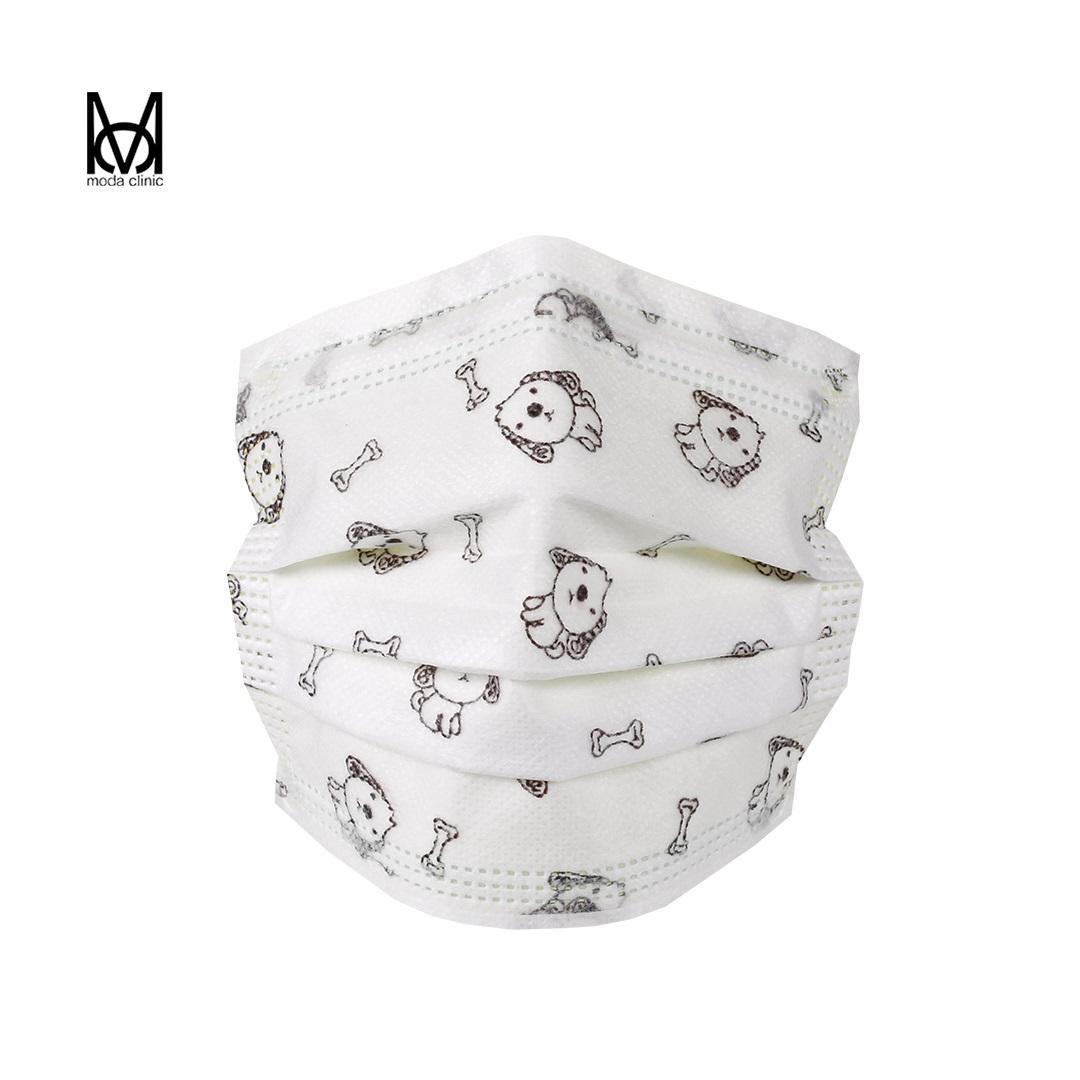 Máscara Descartável Tripla Infantil Estampada  - Pacote C/ 50