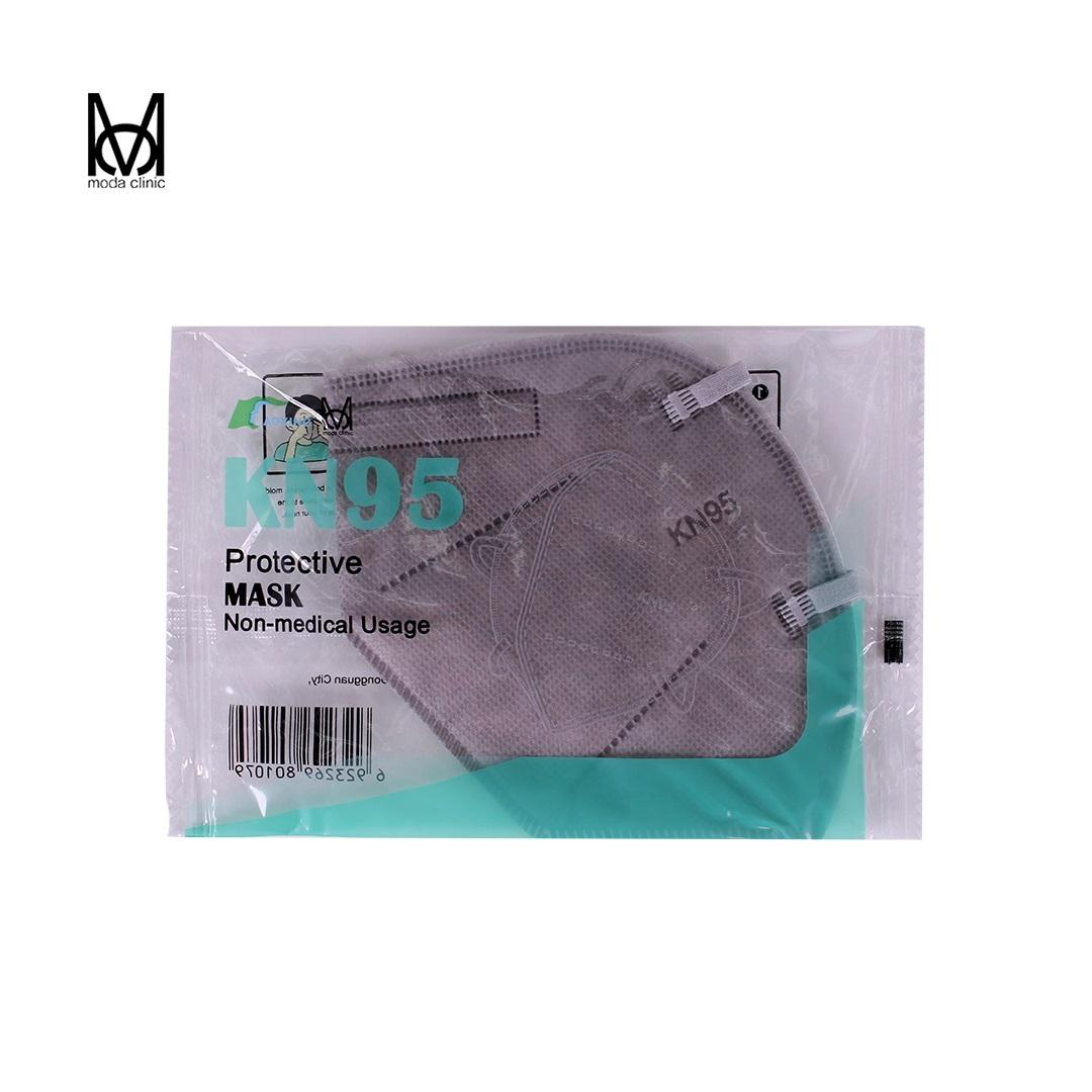 Máscara KN95 Cinza - Pacote C/ 20 Unidades