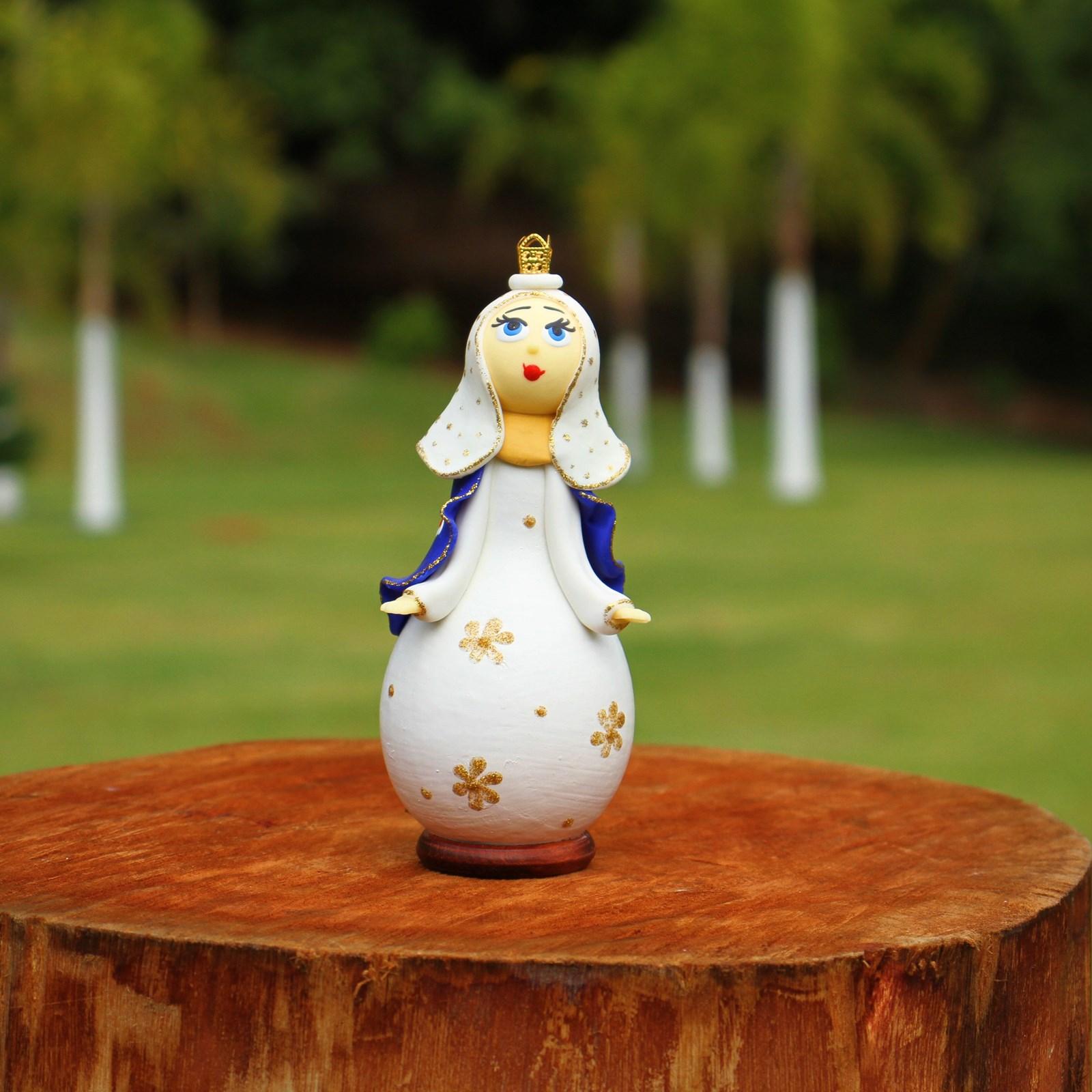 Boneca  N. S. das Graças a em Cabaça