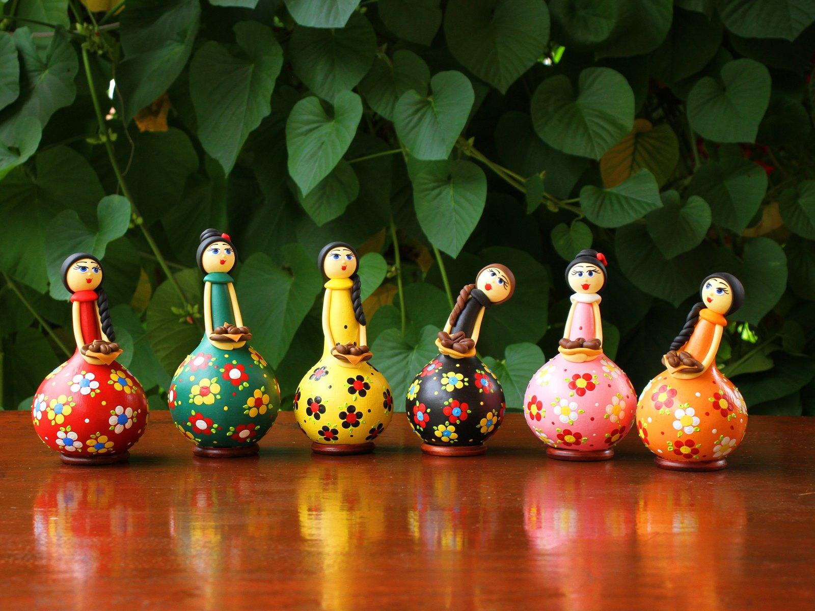 Bonecas Cantinho do Café em Cabaça