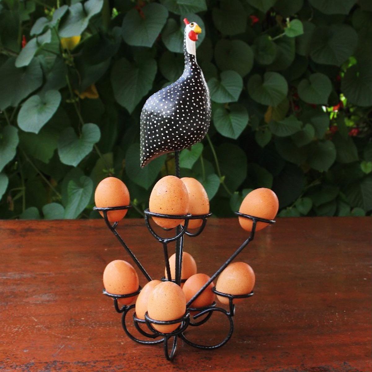 Galinha Porta Ovos Decorativa