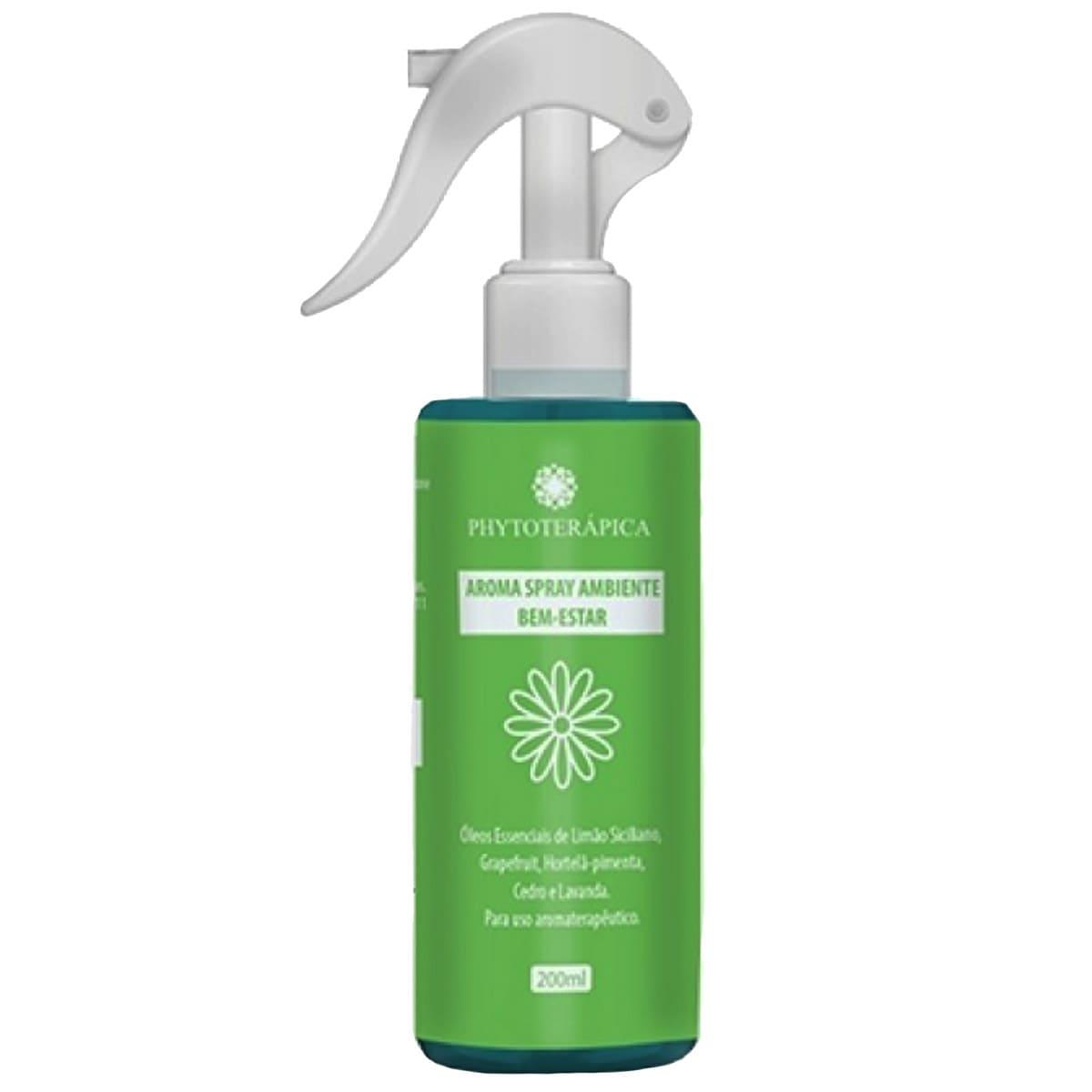 Aromatizador de Ambiente Spray Bem Estar - 200ml  - Phytoterápica