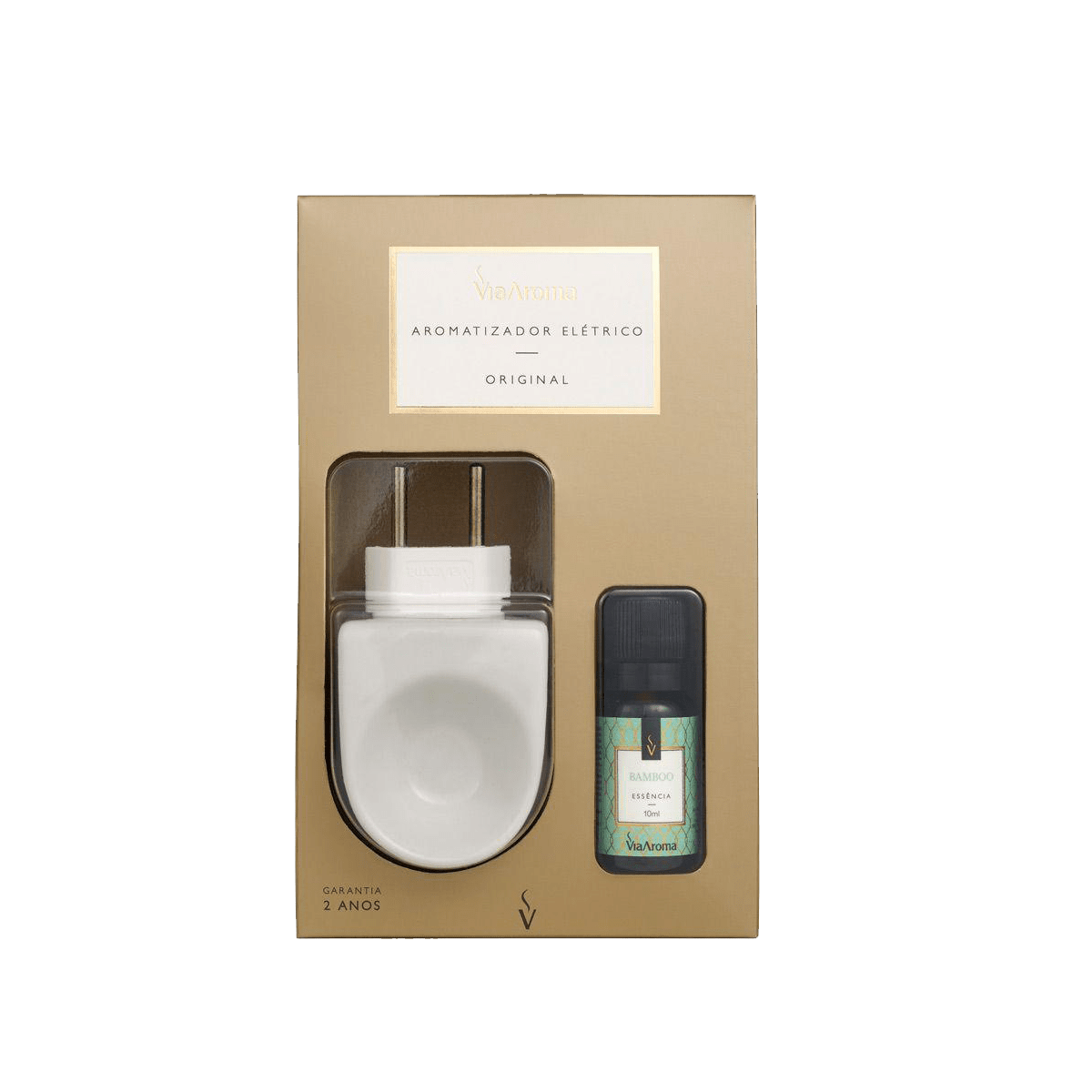 Aromatizador elétrico com bamboo - Via Aroma