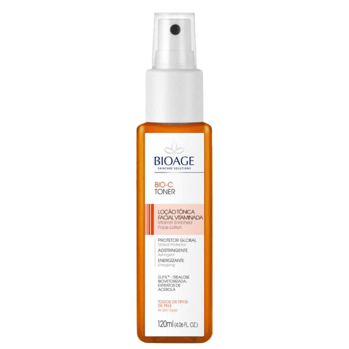 Bio C toner acerola loção tônica - 120 ml - Bioage