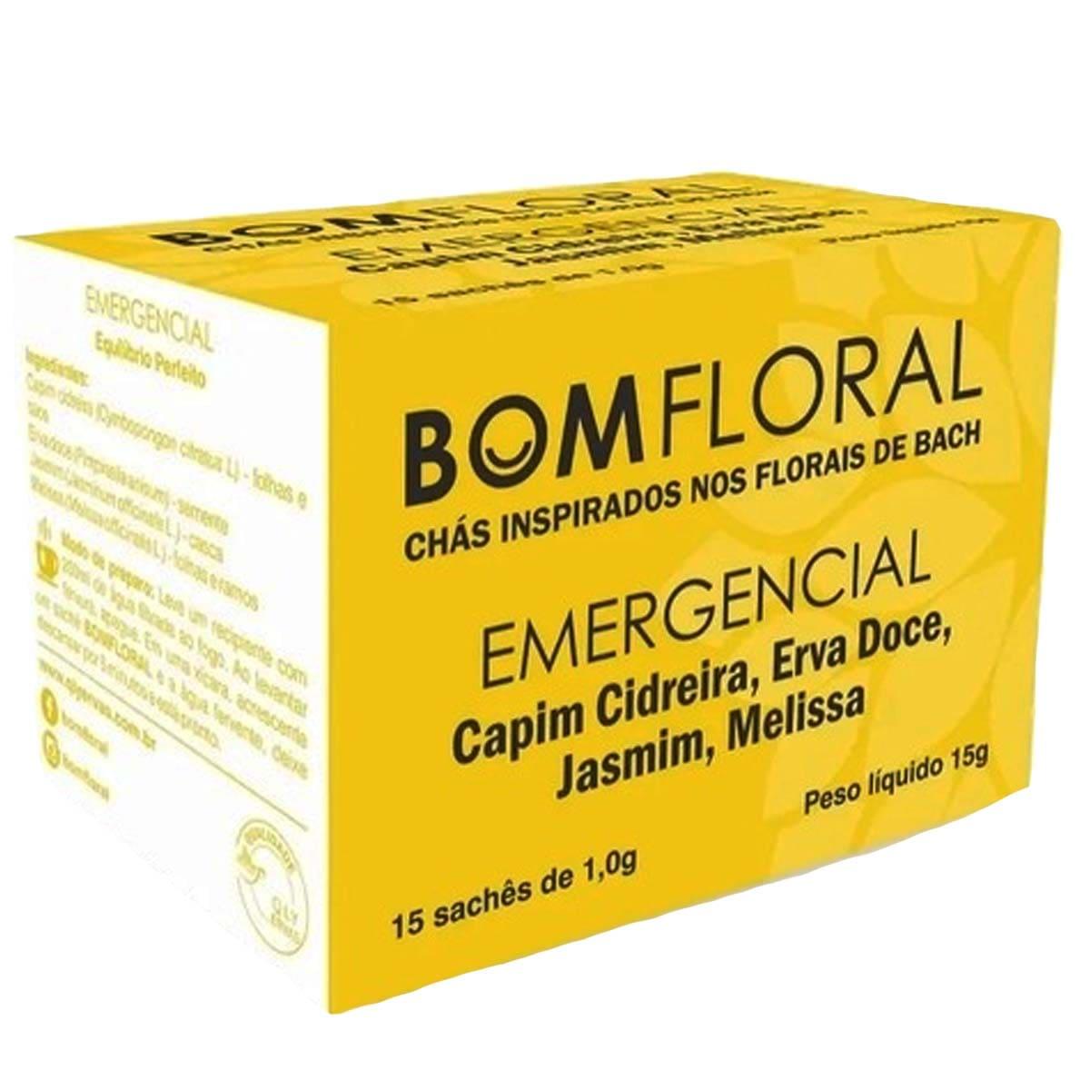 Bom floral emergencial 15 sachês - Qualy ervas