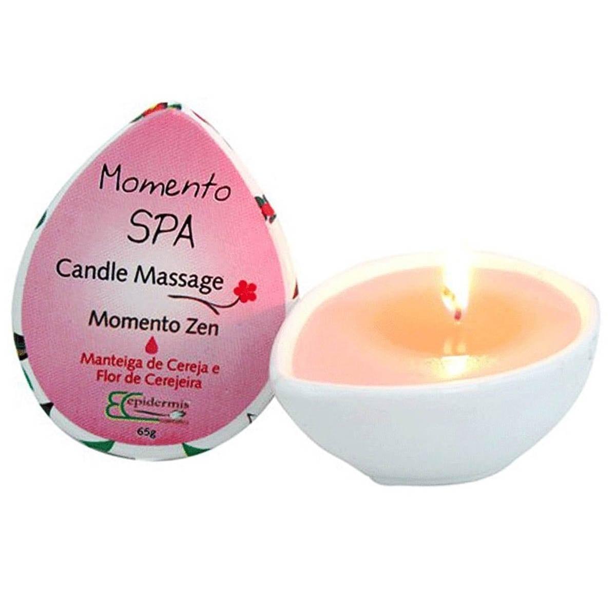 Candle massage momento zen 65g - epidermis