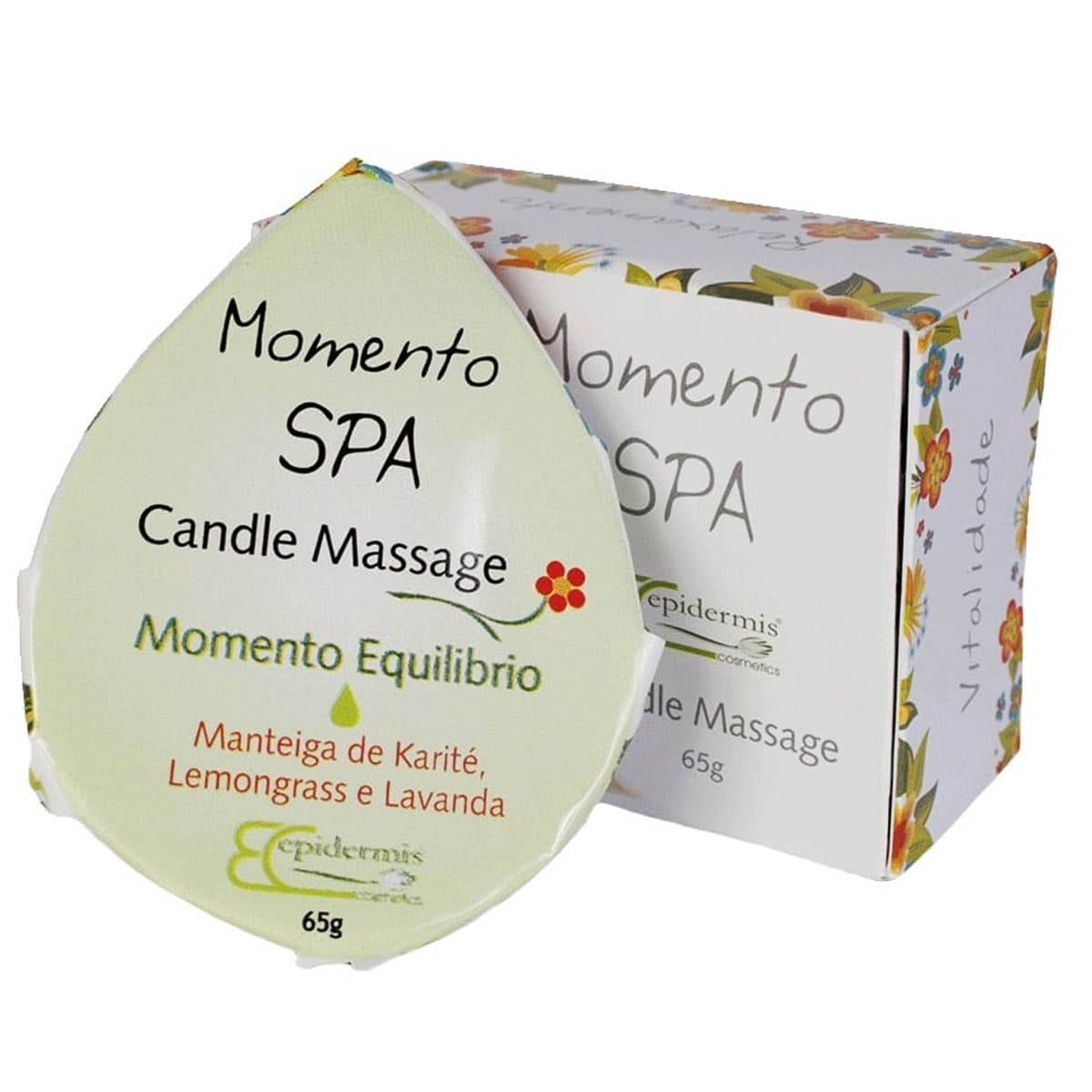 Candle momento equilíbrio 65g - Epidermis