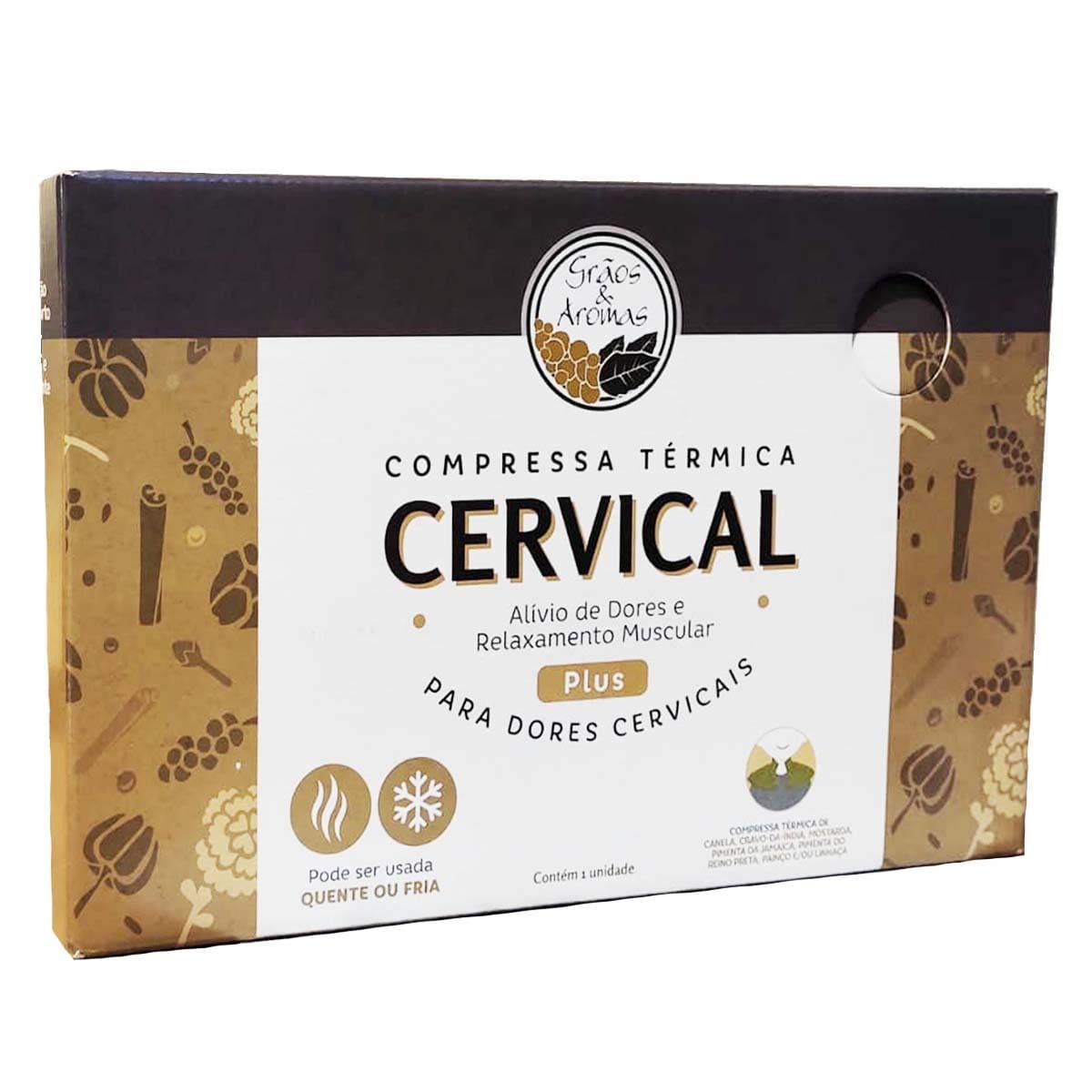 Compressa para Cervical Plus - Grãos e aromas