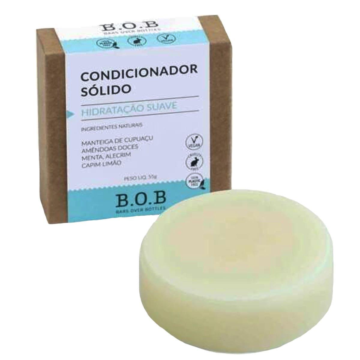 Condicionador sólido hidratação suave 55g - B.O.B
