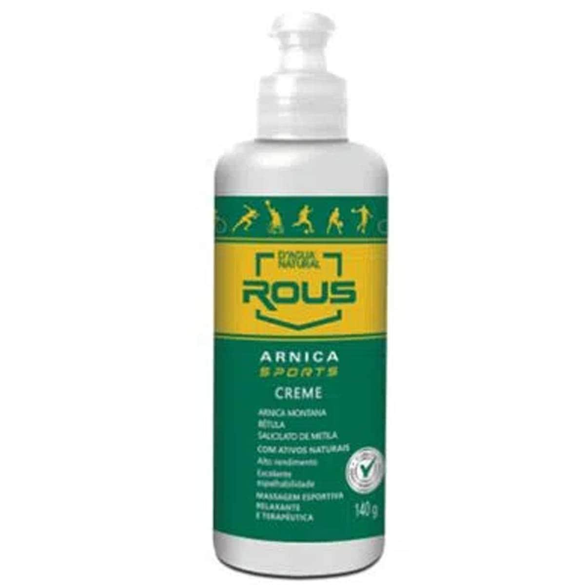 Creme massagem arnica sports 140g - d agua natural