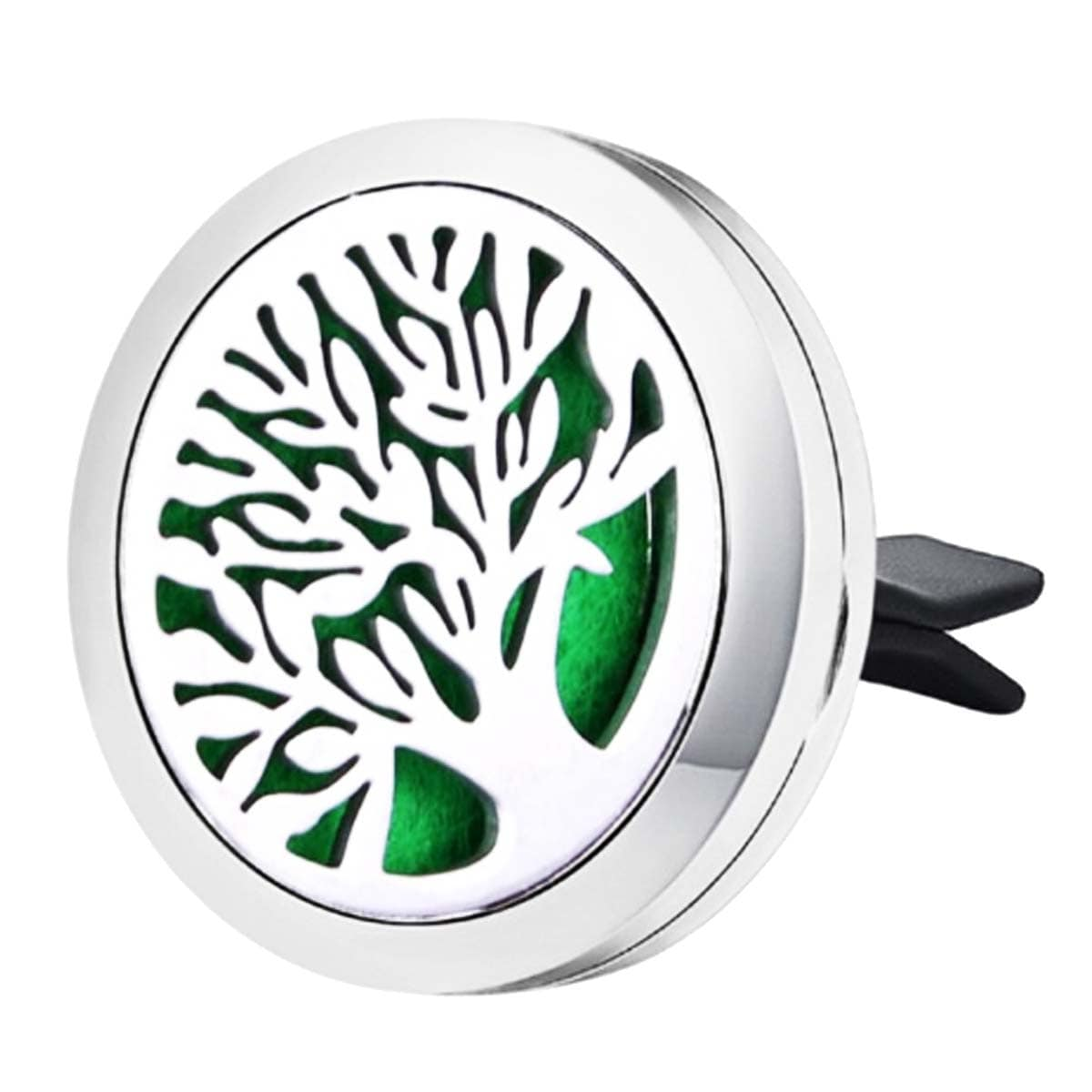 Difusor de Aromaterapia para carro em aço inoxidável - Árvore da Vida