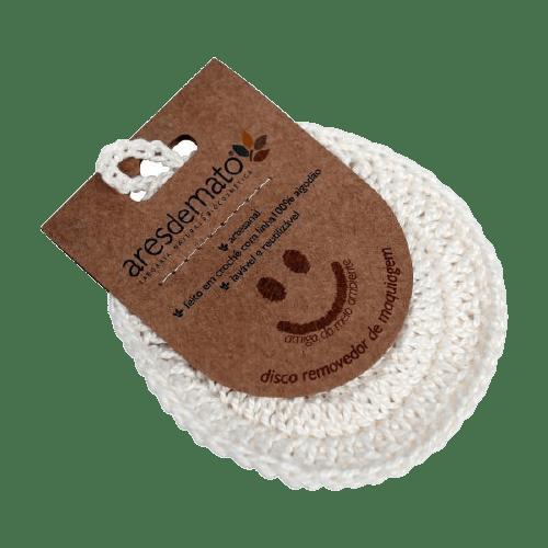 Ecopads disco de crochê - ares do mato
