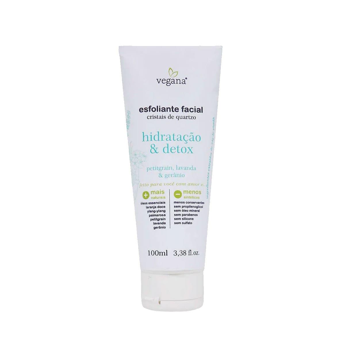 Esfoliante Facial Hidratação e Detox Vegana 100ml - WNF
