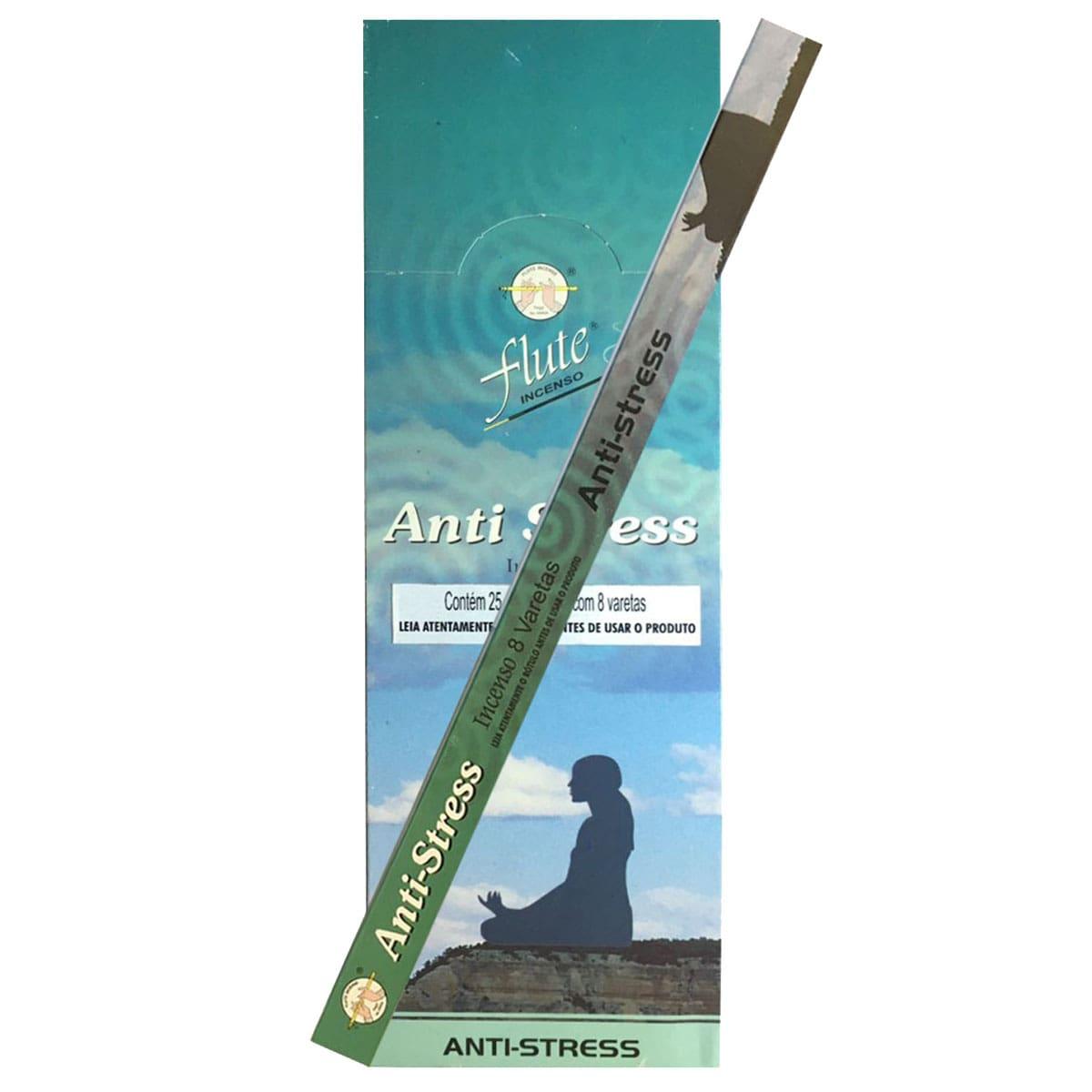 Incenso anti stress flute - central do incenso
