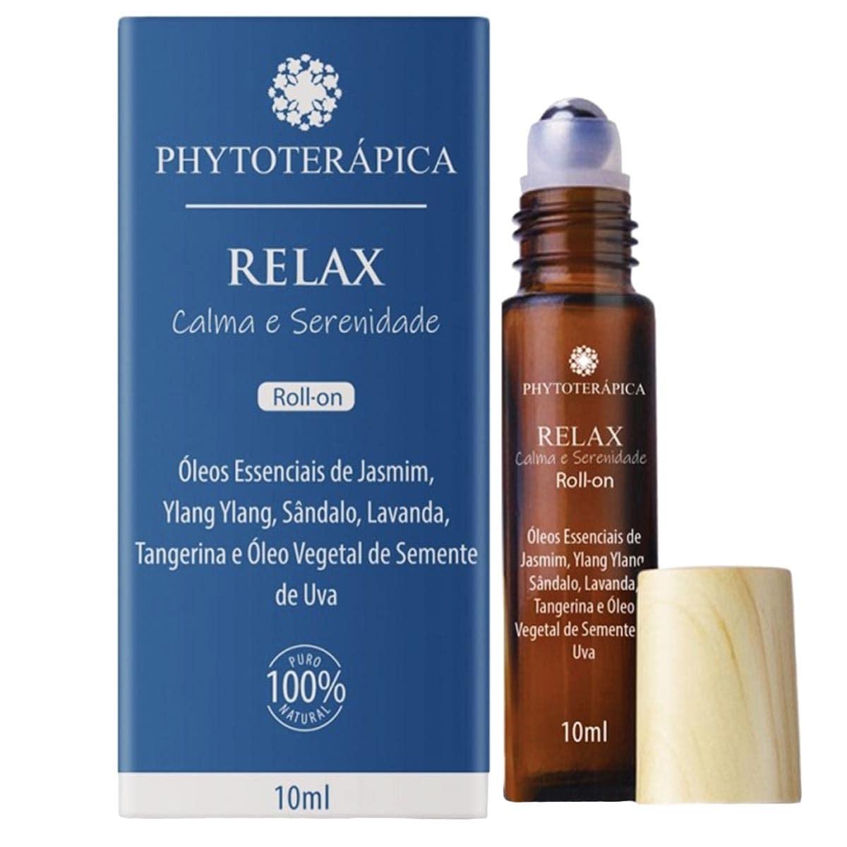 Óleo composto roll-on relax 10ml - Phytoterapica