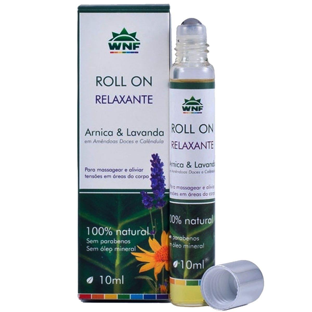 Óleo de massagem relaxante  rollon 10ml - WNF