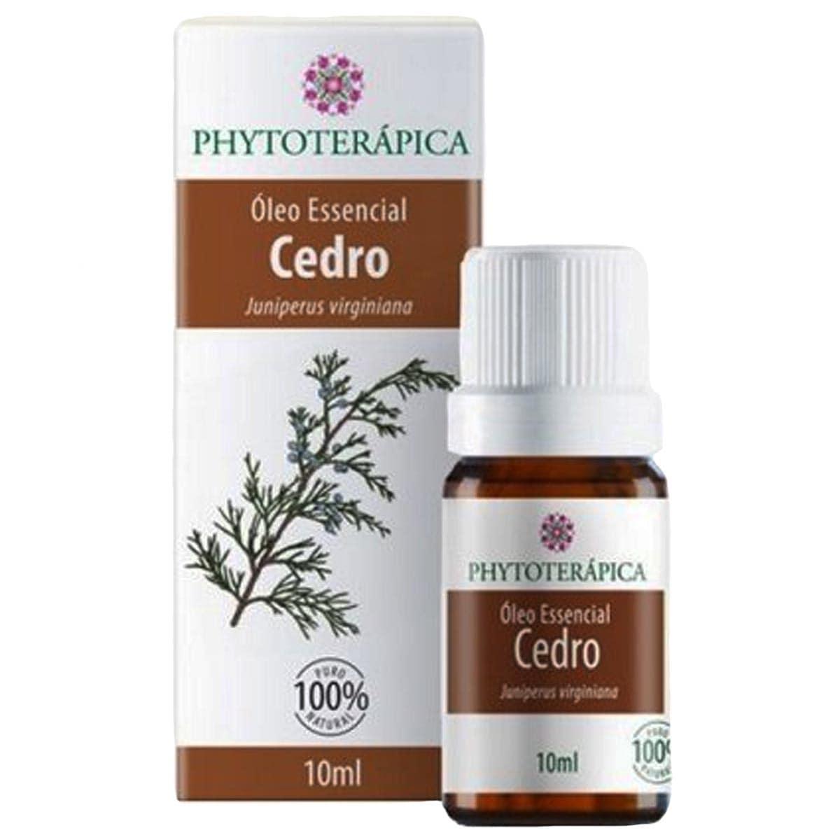 Óleo Essencial Cedro 10 ml Phytoterápica