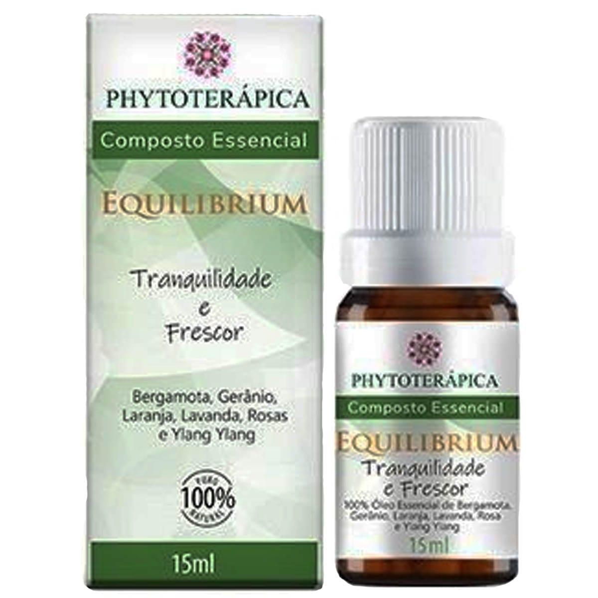 Oleo Essencial Composto Equilibrium 15ml - Phytoterapica