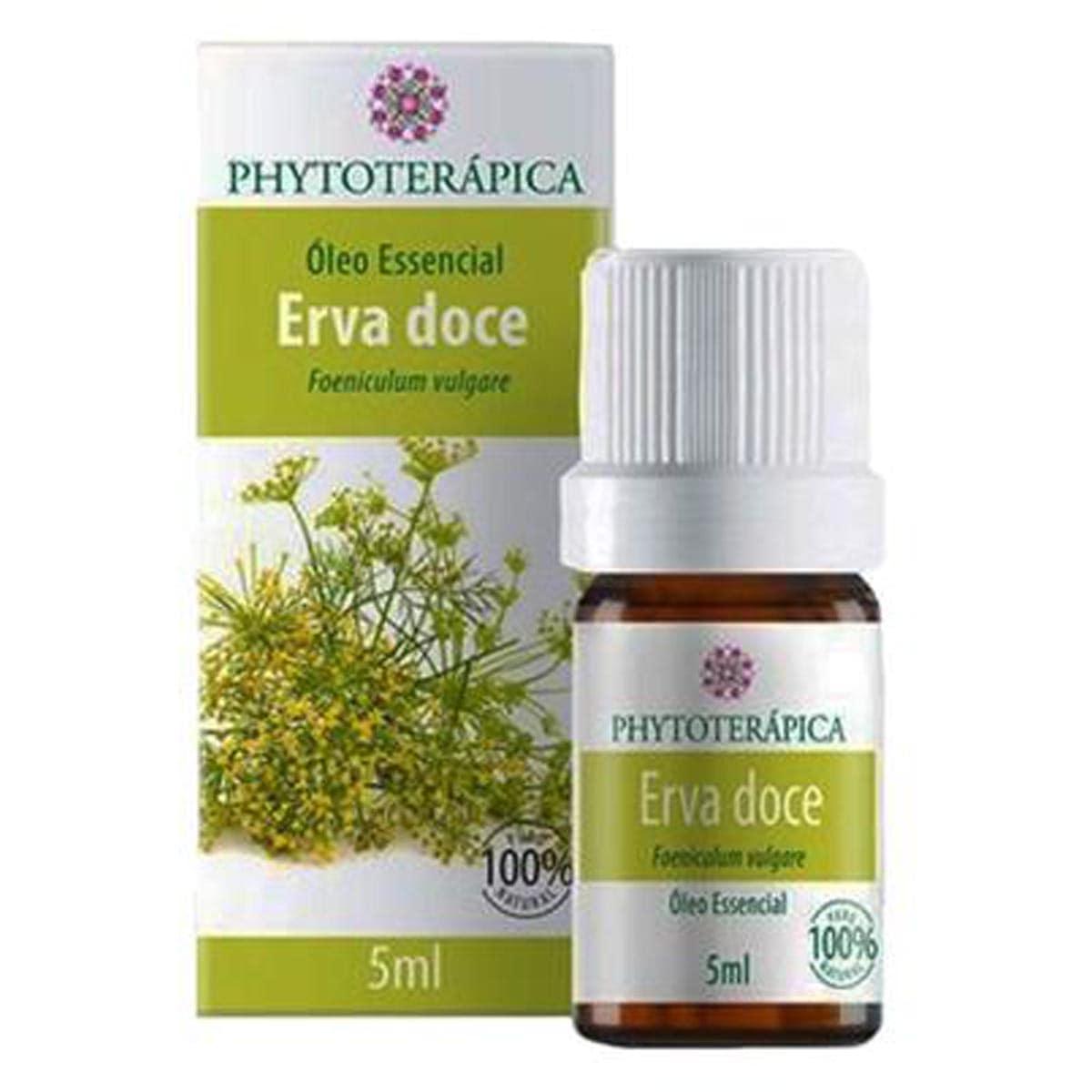 Oleo Essencial Erva Doce 5ml - Phytoterápica