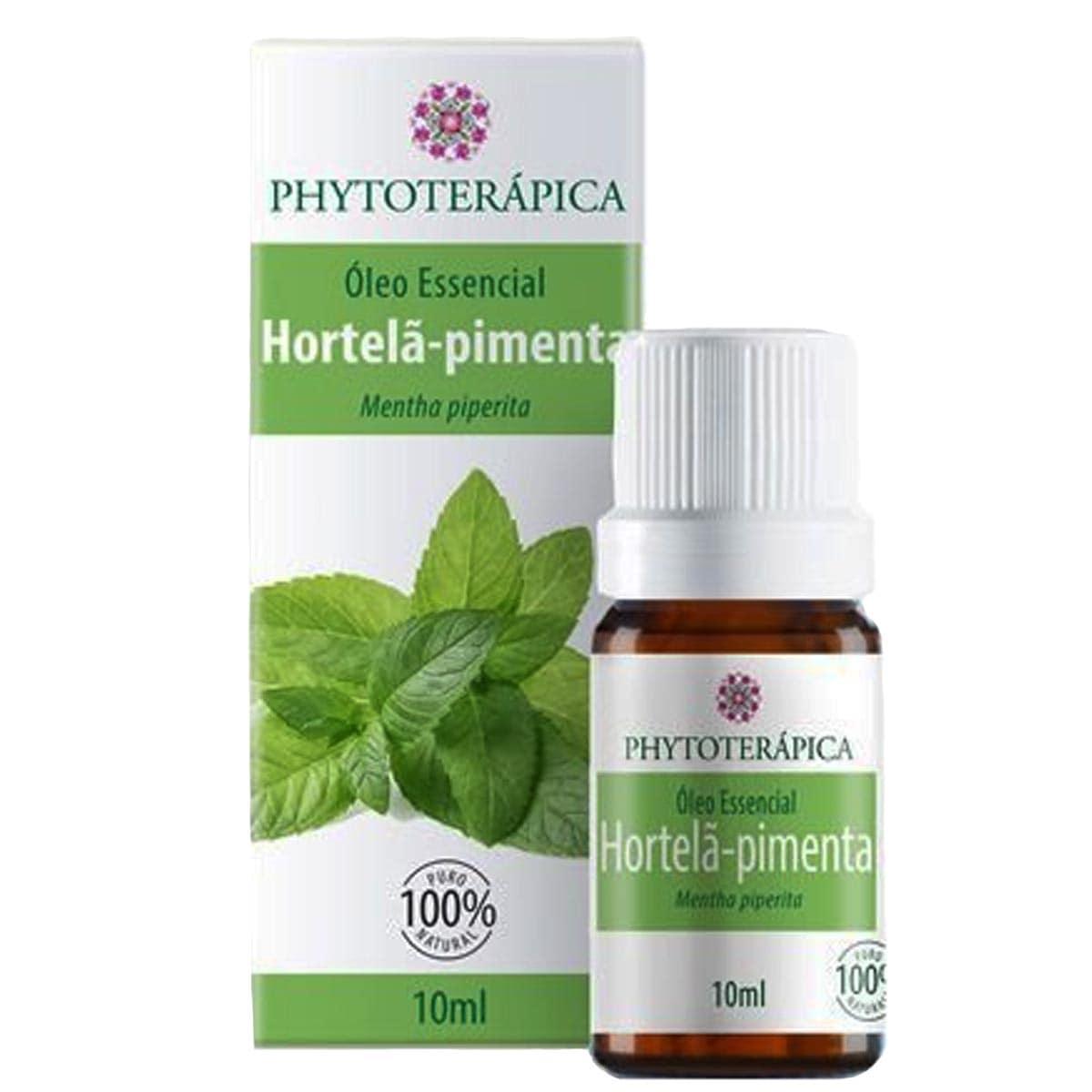 Óleo Essencial Hortelã Pimenta Mentha Piperita 10ml Phytoterapica