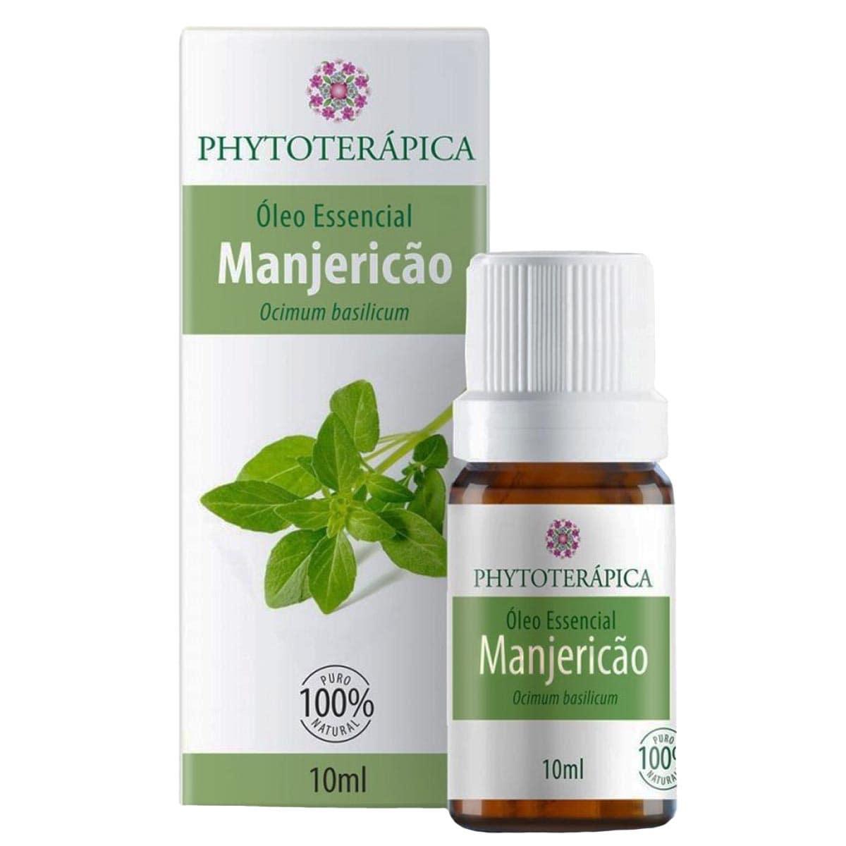 Óleo Essencial Manjericão Basilicão 10ml Phytoterápica