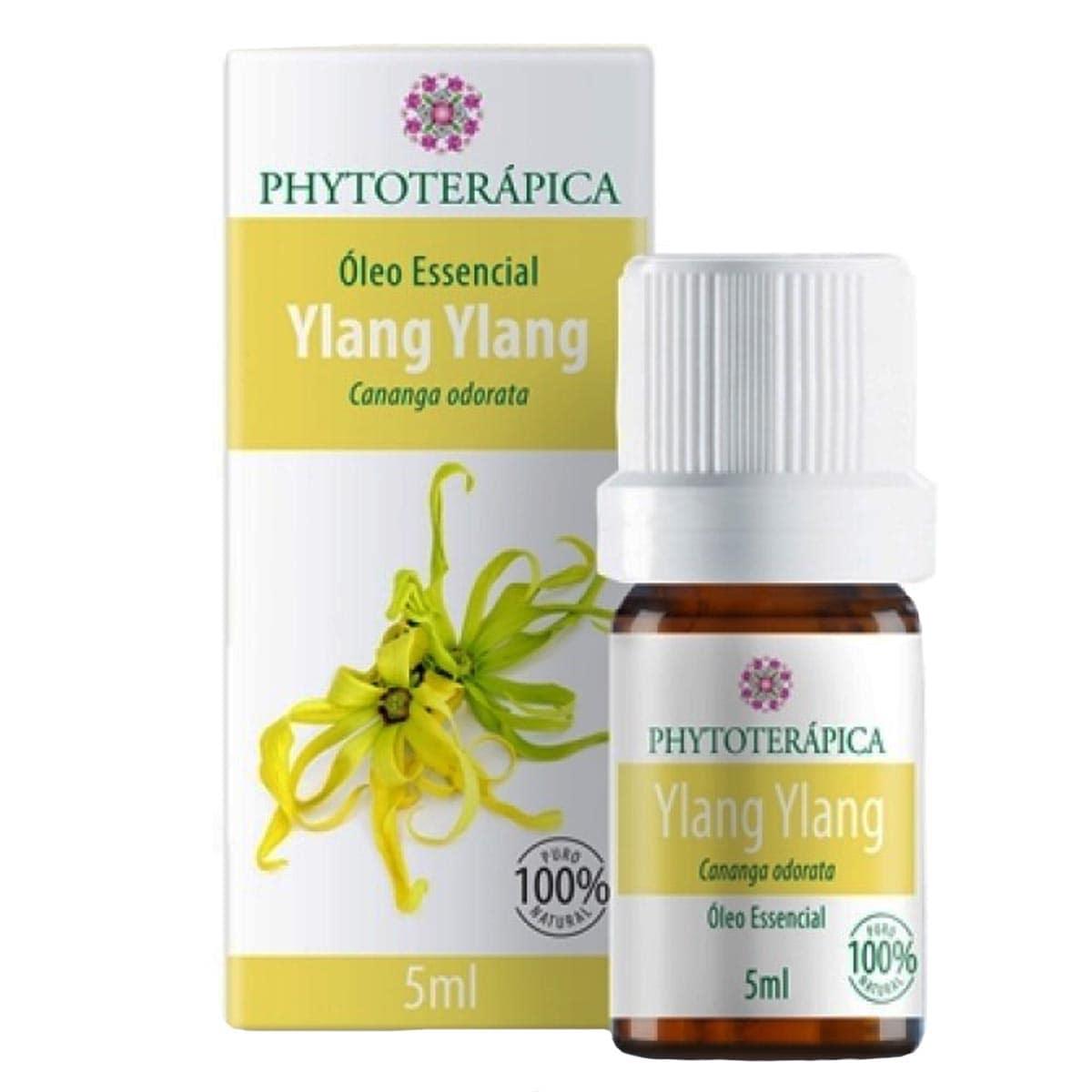 Óleo essencial Ylang Ylang 5ml Phytoterápica